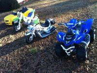 Hey there i have 4 used power wheels. I have a power