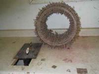 Wreath maker $50. Makes wreath making really easy.
