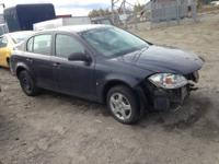 wrecked 06 cobalt 2 dr rec papers  and 08 cobalt 4 dr