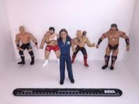 Wrester action figures $3 each PayPal only This ad was