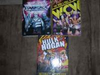 Wrestling boxset DVDs. The Rise and Fall of WCW and The