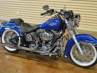 2009 Harley Davidson Softail Deluxe Custom New Harley