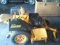 WRIGHT SENTAR ZERO TURN / WALK BEHIND COMMERCIAL MOWER