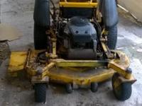 Wright sentar zero turn commercial mower I have my