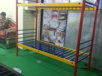 Wrought iron bunk bed new 2.5*6 full folding bed i am