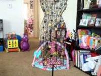 I am selling my wrought iron decorative dress form. I