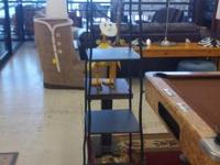 For sale we have a very sturdy wrought iron 4 tier