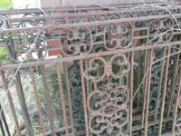 3 Mediterranean style decorative railings 15 feet long
