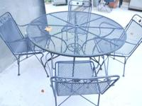 Patio Table Chairs Umbrella New And Used Furniture For Sale In The