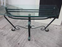 This is a massive vintage functioned iron accent or