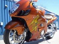 bike. It has 13300 miles on it. Fully customized with