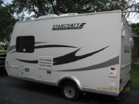 Hybrid trailer-Length 26FT-Sleeps 9-3 pop outs