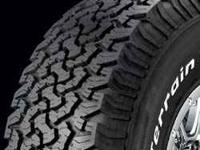 Looking for set of BFG All-Terrain T/A tires in desent