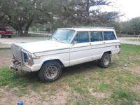 I have a 1979 Jeep wagoneer it runs and drives all it