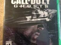 Brand new un-opened COD Ghost for xbox1. Asking 40 obo