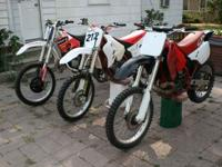 Hi i have these dirtbikes, looking to trade for an