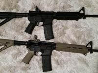 For sale or trade a fresh Palmetto State carbine Ar15.