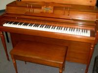 The quintessential American piano - Wurlitzer. Newly