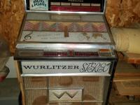 Wurlitzer Multi Selector Phonograph  Model