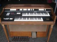 Wurlitzer Organ for $30 obo. The pedals don't work, but