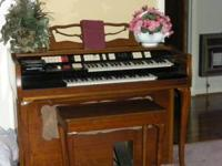 Wurlitzer Organ. Sounds great. Great condition. $900