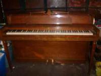 Wurlitzer piano, works great, $100 picture has a little