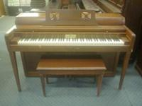 Wurlitzer piano, needs tuning, all keys play.  I need