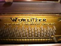 This Wurlitzer Piano is in great condition and have