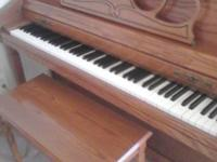 We have a stunning wurlitzer piano in outstanding shape