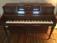 Wurlitzer Piano Console, Ultra Series Model #2646 with