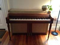 Wurlitzer spinet piano offered NOW! Daughter does