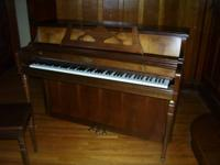 I have a Wurlitzer upright piano (model 1740) for sale.