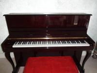 """Wurlitzer Upright Piano $275 37""""H x 56""""W x 24""""D Chabad"""