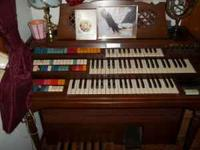 Wurlizer electric piano and organ. Fully loaded would