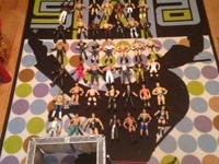 49 WWE Figures, Ring, Steel Cage, Entrance, Backstage