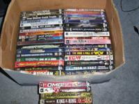 Selling 39 WWE DVD'S. Asking $5.00 Each or all for