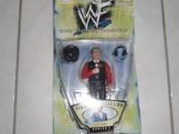 WWF WWE Ringside Collection #2 Ring Commentator Jim