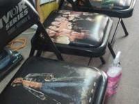 I have about 20 left Wwf ringside chairs some are