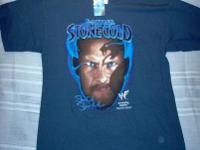 WWF Vintage STONE COLD STEVE AUSTIN T-Shirt from 1998