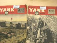 These YANK magazines are in great disorder.  Could be