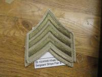 11. WWII Fabric Flight Coach's Wings on Khaki