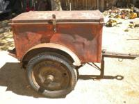 I have a WWII K38 1/4 ton 2 wheel trailer that was used