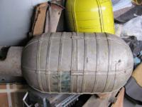 WWII B-17 Air Tank HOT ROD RAT ROD Fuel or Water tank