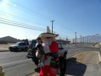 December in El Paso or Las Cruces Best Santo Claus in