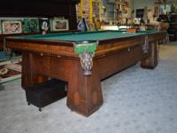 We sell New and Pre-Owned pool tables, including