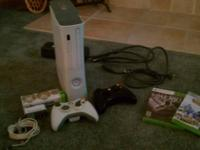 "X-BOX 360 ""PRO"" IN PERFECT CONDITION. 20 GIG HARD DRIVE"