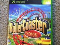 X Box Game Roller Coaster Tycoon Conditions: Like New