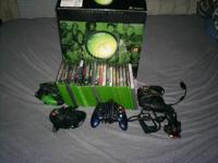 SELLING A OLD SCHOOL X-BOX GAME SYSTEM WITH 22 GAMES
