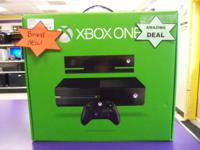 X-Box One Brand-new in box manufacturing plant seal.