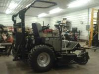 """Has the 33 HP Generac engine, which runs great. 74"""""""